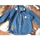 Куртка детск джинсовая