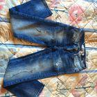 Zara джинсы прямого кроя, длина до щиколотки, размер 34 (на наш размер 42/44).
