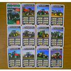 Farm Machies (Сельскохозяйственные машины: трактор, комбайн) в карточках (22шт.)