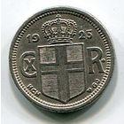 ИСЛАНДИЯ - 25 ЭРЕ 1925