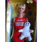 Новая Барби\ Barbie Coca-Cola party 1998