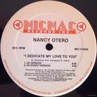 "12"" Nancy Otero - I Dedicate My Love To You (1989)"