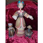 Куклы из льна, плетеные куклы