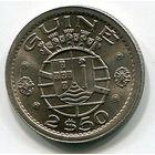 ГВИНЕЯ БИСАУ - 2-1/2 ЭСКУДО 1952
