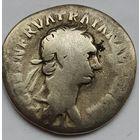 Денарий Рим Траян 98-99гг