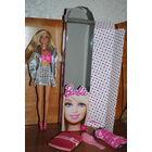 """КУКЛА БАРБИ от MATTEL_""""Полина"""" _с шикарным зеркалом и в оригинальном костюме 25-ти летней давности-(покупался ранее, отдельно)-100% Оригинал от Mattel."""