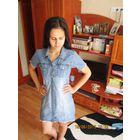 Фирменное платье Джинс р.С