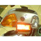 Задний отражатель стоп сигнала на Хонда Дио 27
