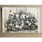 Фотография ДЕТИ Группа детей с воспитателем возможно детский дом 1920-30-е года