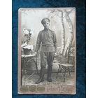 Фото солдата царской армии.