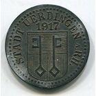Ng ЮРДИНГЕН - 10 ПФЕННИГОВ 1917