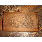Старинная деревянная коробка