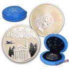 1 доллар, 2008 г. Ниуэ. Сочи - Аэропорт. Серебро