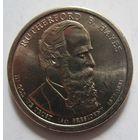 США. 1 доллар 2011 Ратерфорд Хейз (1877-1881). 372