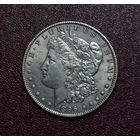 США 1 доллар 1896 год Морган Серебро