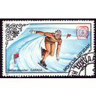 1 марка 1984 год Монголия Олимпиада