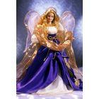"""Кукла Барби/Barbie: """"Рождественский Ангел - 2000 год"""" (Holiday Angel Barbie Collector Edition 2000), коллекционная, Mattel."""