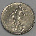 Франция, 1 франк 1968
