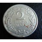 Германия. Веймар. 2 марки 1926 г. (А)