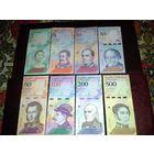 С рубля за шт! Большая коллекция банкнот Венесуэлы, 2018г. Распродажа коллекции.