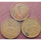 2 пенса 1975 Ирландия КМ# 21 бронза