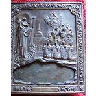 Серебро тяжелый оклад 500гр.., подокладная икона Боголюбская