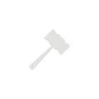 Оригинальная шведская вазочка из очень тяжелого толстого синего стекла