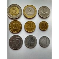 Литва 1 2 5 лит 1 2 5 10 20 50 центов