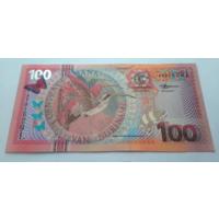 Суринам 100 гульденов 2000 г UNC
