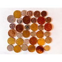Монеты Бельгии с рубля.