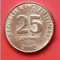 24-11 Филиппины, 25 сентимо 2002 г.