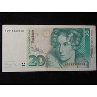 ФРГ 20 марок 1991г.