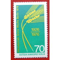 Германия. Западный Берлин. ( 1 марка ) 1976 года.