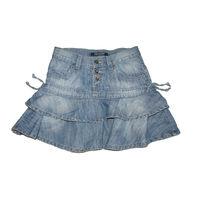 Настоящее немецкое качество! Игривая джинсовая мини-юбочка знаменитого бренда Picaldi Jeans (Германия, оригинал) на наш размер 40-42 (по маркировке XS). Носится ниже талии, но не на бедрах