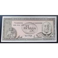 Тонга. 1\2 паанга 1983 AU