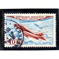 Франция.Mi:FR 987. Mystеre IV 100F. Серия: Воздушная почта.1946.