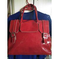 Роскошный лак- сумка женская