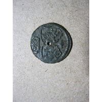 Денарий лобженица 1622 год