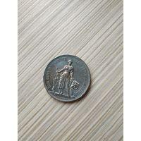 Швейцария. Стрелковый талер. 5 франков 1885г. Фестиваль в Берне. Торг. Редкость.