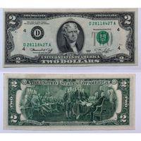 2 доллара США, 1976 D