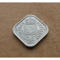 Нидерландские Антильские острова, 5 центов 1984 г.