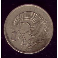 1 цент 1983 год Кипр