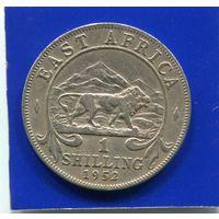 Британская Восточная Африка 1 шиллинг 1952