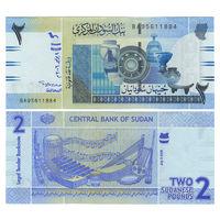 Судан. 2 фунта 2006 г. [P.65] UNC