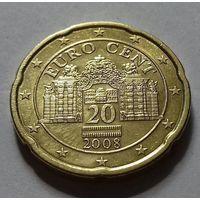 20 евроцентов, Австрия 2008 г.