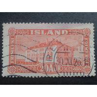 Исландия 1925 нац. музей