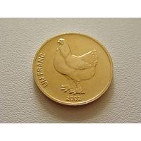 "Конго.  1 франк 2002 год KM#82  ""Курица"""