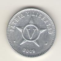 Куба: 5 сентаво 2009 г.