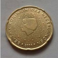 20 евроцентов, Нидерланды 2004 г.