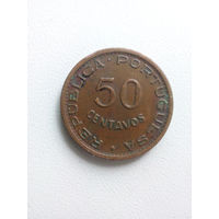 50 Сентаво 1961 (Ангола - Португальская колония)